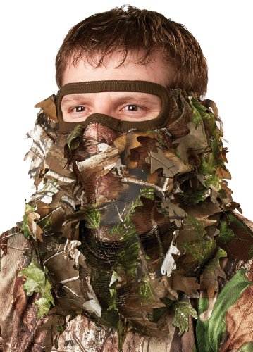 Hunters Specialties Camo Flex Form Leafy Net 3/4 Face Mask