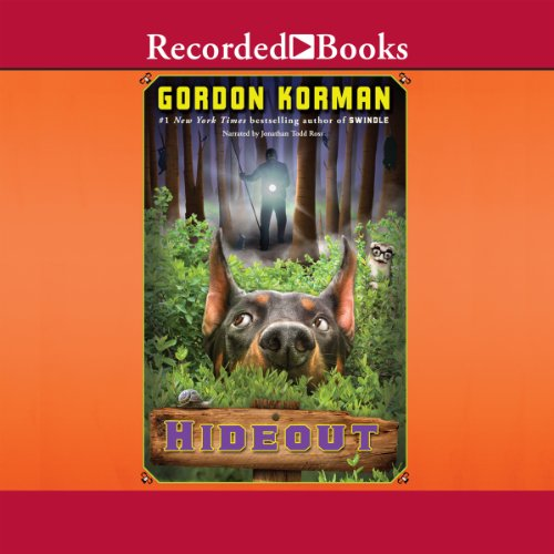 Hideout audiobook cover art