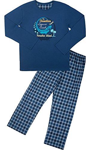 Cornette Jungen Pyjama CR-553-Young(Jeans (Chameleon2), 158/XXS)
