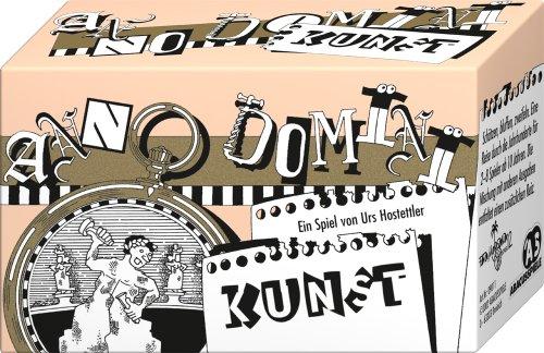 ABACUSSPIELE 09011 - Anno Domini - Kunst, Quizspiel, Schätzspiel, Kartenspiel