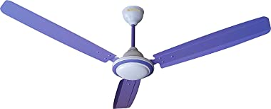 ACTIVA 1200MM 390 RPM HIGH Speed BEE Approved 5 Star Rated Anti DUST Coating Super Ceiling Fan Purple_2 Year Warranty