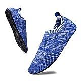 Sosenfer Hombre Mujer Zapatillas de Estar por casa Interior Pantuflas para Unisex Suela Antideslizante Slippers-BAOLAN-40