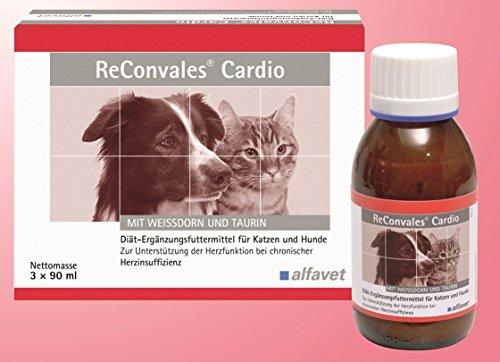 ReConvales Cardio Ergänzungsfuttermittel zur Unterstützung der Herzfunktion bei chronischer Herzinsuffizienz