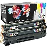 Prestige Cartridge Cartuccia di Toner ad Alta Capacita Compatibile con CF283A per Stampante HP LaserJet Pro MFP, 2 Pezzi, Nero