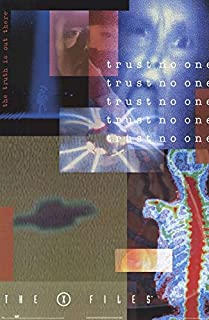 trust no one poster x files