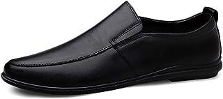 wangqianli Conduite Mocassins Hommes Chaussures de Marche en Cuir véritable Super Soft Flats léger Stitched Chaussures Sol...