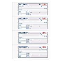 カーボンレスMoney Receipt Book、ノンカーボン、4入金/ PG、100セット/ブラック( top46808) byトップス