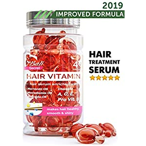 Beauty Shopping Hair Treatment Serum by Bali Secret – Improved Formula – No Need to Rinse – with Argan Macadamia Avocado Oils – Vitamins…