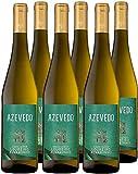 Vino Blanco Azevedo (DOC Vinho Verde) - 6 botellas de 750 ml - Total: 4500 ml