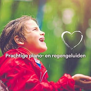 Prachtige piano- en regengeluiden