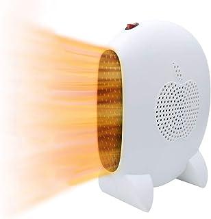 Calefactor Portátil,Mini Calefactor Eléctrico 1000W Ahorro de energía Calefactor de Aire Caliente PTC Elemento de Cerámico Calentador Rápido para Habitación, Oficina,Baño