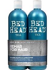 TIGI Bed Head - Urban Anti+Dotes Recovery Shampoo 750 ml + Condizionatore 750 ml, Set da 2 Pezzi