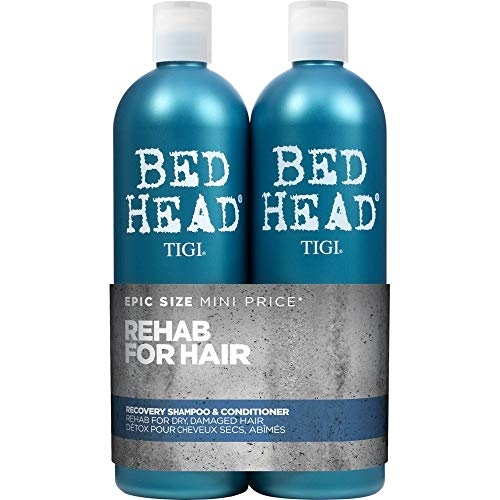 Bed Head by Tigi – Urban Antidotes Recovery, champú y acondicionador para cabello seco, 2 x 750 ml
