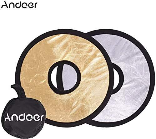 Andoer 30cm 2 In 1 Runde Hohle Klapp Multi Disc Kamera