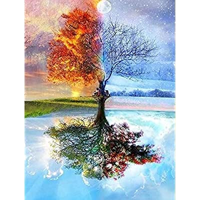 Creative Diamond Painting Kits for Adults, 5D C...