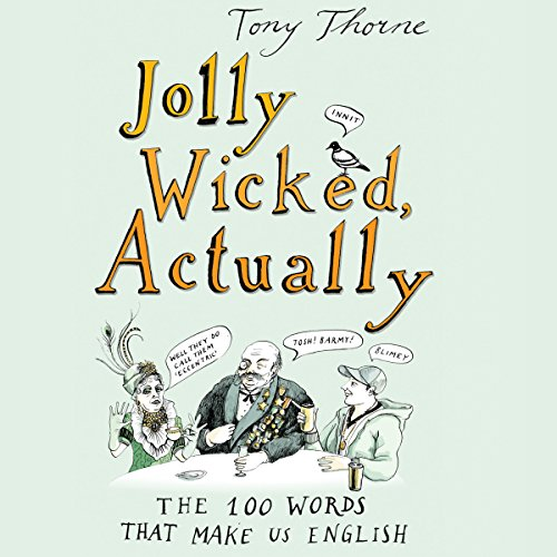 Jolly Wicked, Actually audiobook cover art