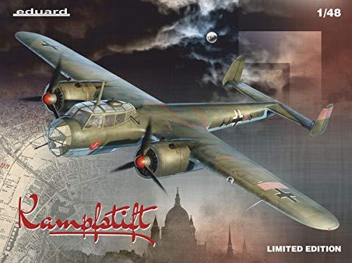 Eduardo 1/48 Limited Edition German Air Force Dornier Do-17Z / EDU11147 1:48 Eduard Dornier Do17Z 1939-11942 Kampfstift [Model Building KIT] 2