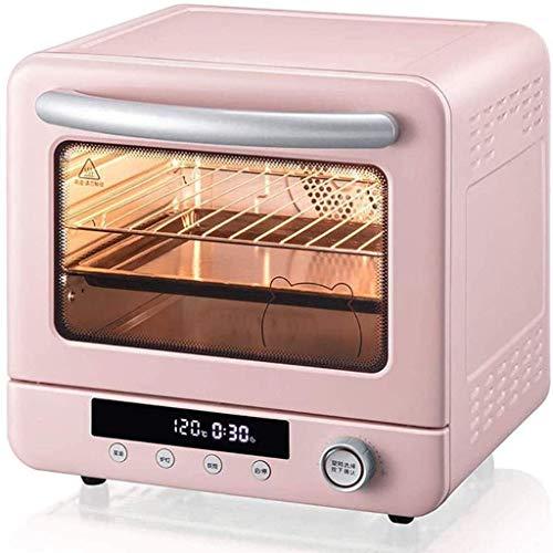 Wghz Mini-Ofen Multifunktionaler Elektroofen, Haushaltsbackkuchen Automatisch 20L Große Kapazität Kleines, verstecktes Heizrohr, Intelligenter digitaler Bildschirm - 1300W