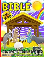 Bible Coloring Book: Bible Coloring Book For Kids ages 6-12 Beautiful Bible Scenes Coloring For Boys And Girls