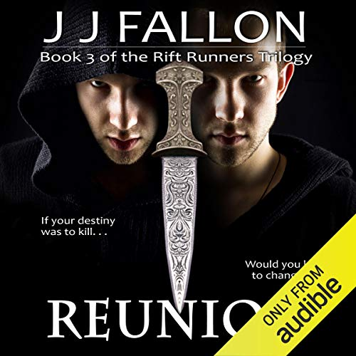 Reunion     Rift Runners, Book 3              By:                                                                                                                                 J J Fallon                               Narrated by:                                                                                                                                 Colleen Prendegast                      Length: 15 hrs and 32 mins     18 ratings     Overall 4.0