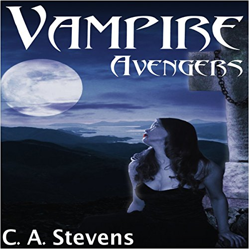 Vampire Avengers audiobook cover art