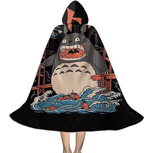 Niet van toepassing capuchon capuchon, volwassen mantel mantel, unisex cosplay rol kostuums, mijn buurman totoro de buren aanval halloween partij decoratie bovenkleding, wizard mantel, vampier mantel