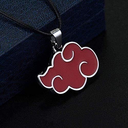 ZGYFJCH Co.,ltd Collar Moda Moda Dibujos Animados Red Cloud Colgante Collar Mujer Collar Moda Metal Colgante Accesorios de Fiesta Collar Colgante Regalo para Hombres Mujeres Niñas Niños