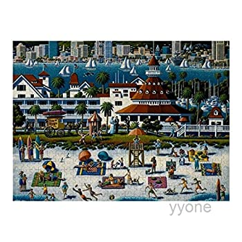 500 Piece Wooden Jigsaw Puzzle San Diego Jigsaw Puzzles Fun Game Toys Birthday Gifts  Without Frame
