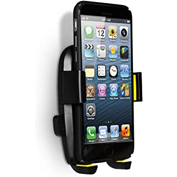 Phone Holder Wall Mount with 3M VHB Adhesive Strips Phone Charging Holder Compatible for iPhone, Samsung, Smartphone and Most Other Cellphones PJYU