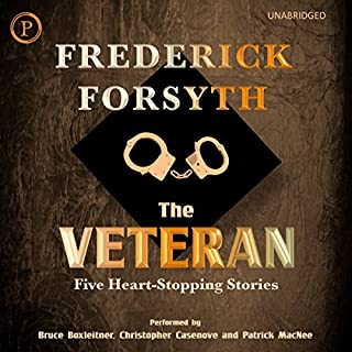 The Veteran: Five Heart-Stopping Stories audiobook cover art