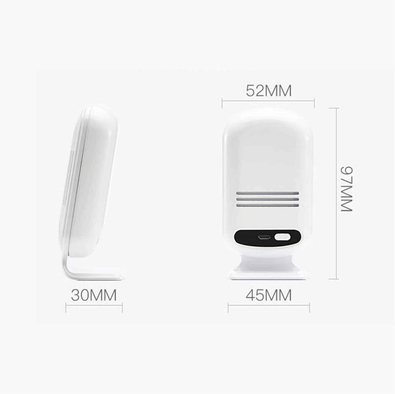 Z-Y Medidores de Calidad de Aire Interior Monitor de Calidad del Aire probador Inteligente de la Calidad del Aire WiFi Detector de CO2 Medidor de PM 2.5 Professional Detector Smog CO2 Medidor de HCHO