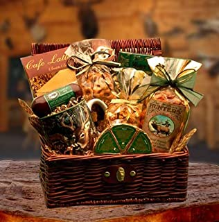 Hunters Retreat Gift Chest with Hand Crafted Coffee Mug