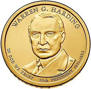 warren g harding dollar coin