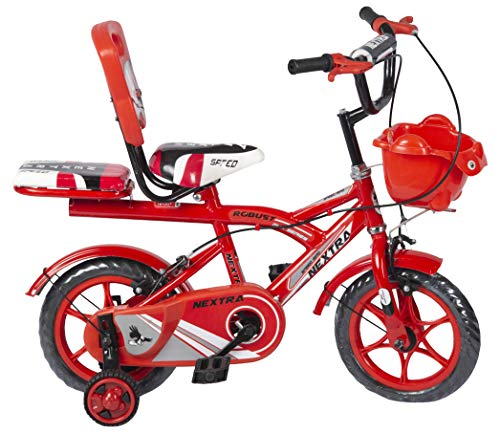 SPEED BIRD Robust Double Seat Bicycle, Wheel Size- 12 inches, Frame-...