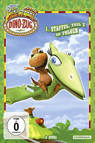 Dino-Zug - 1. Staffel, Teil 2, 40 Folgen [3 DVDs]