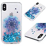 Beaulife Coque pour iPhone Xs Max Glitter Bling Bling Shinny Flowing Liquide Design Soft Silicone...