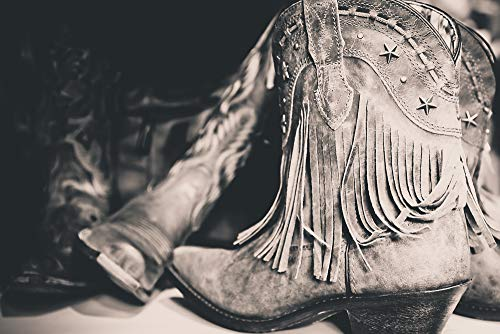 Nashville Tennessee Guitar Cowboy Boots Hat T-shirt 3
