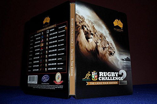 Rugby Challenge 2 The Lions Tour Edition Steelbook