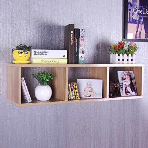 XINGPING-Shelf Estantería Simple y Elegante Estantería de partición Estantes de Pared a Cuadros Estantería de Pared de estantería Estanterías de Pared Paneles Decorativos