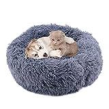 Buwico Cama para perros y gatos, cálida cama para mascotas,...