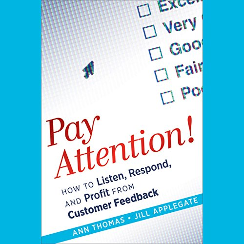 Pay Attention! audiobook cover art