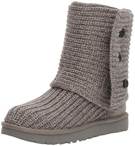 UGG Women's Classic Cardy Winter Boot, Grey, 8 B US