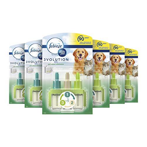 Febreze Ambi Pur Air Freshener Plug-In Diffuser Refill, Pet Odour...