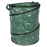 BURI Garten Abfallbehälter 154 Liter Gartenabfallsack Laubsammler Abfallsack Laubsack