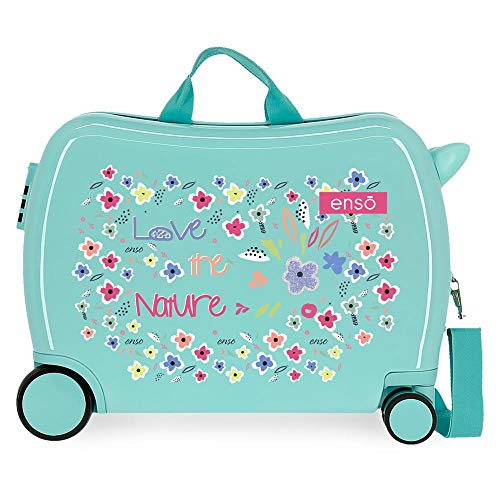 Joumma Bags, S.L. Love The Nature Children's Suitcase, 50 x 39 x 20 cm
