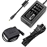F1TP DMW-DCC8 DMW-AC8 AC Power Supply Adapter Dummy Battery Charger Kit Replace DMW-BLC12 Battery for Panasonic Lumix FZ200 FZ300 FZ1000 FZ2000 FZ2500 GH2 G5 G6 G7 GX8 G85 G99 Digital Camera.