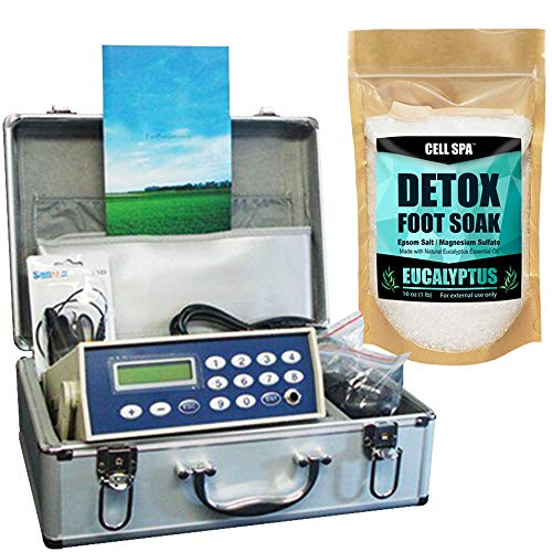 Cell Spa, Fir Belt Chi Ionic Ion Detox Machine Foot Bath Aqua Spa Cleanse (Eucalyptus)