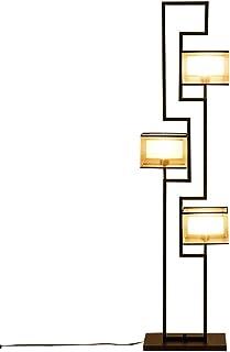 Nouveau chinois lampadaire antique hôtel salon de thé lampe de table verticale rétro rétro en fer forgé étude chambre lamp...