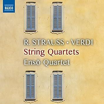 Strauss, Puccini & Verdi: Works for String Quartet