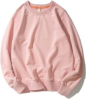 Womens Fashion Thicken Crew Neck Long Sleeve Thicken Pullover Sweatshirt